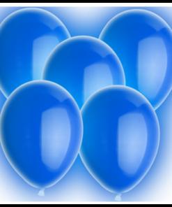 Blauwe LED Ballonnen Partydrink