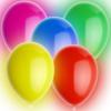 Gekleurde LED ballonnen