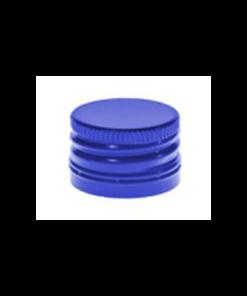 Blauwe Aluminium Schroefdop PP28