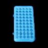 Blauw Tube Rack 50 tubes