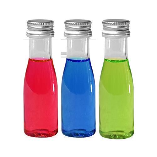 3 verschillende smaken gepersonaliseerde shotjes