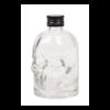 Doodskop flesjes met zwarte pp18 aluminium schroefdop om zelf te vullen