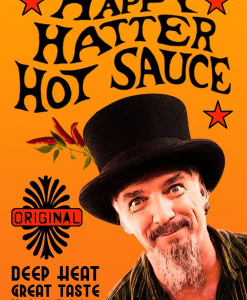 Happy Hatter Hot Saus Wim Daans
