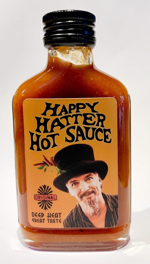 Happy Hatter Hot Sause Wim Daans