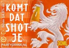 EK 2021 Oranje Shotje