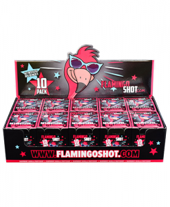 FlamingoShot 10 x 10 pack Partydrink
