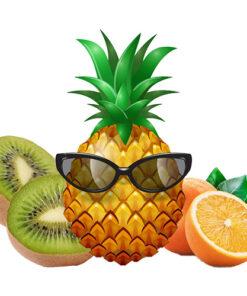 Kiwi Ananas Sinaasappel Mix Tropical Partydrink
